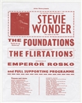 Stevie Wonder Original 1969 Concert Flyer