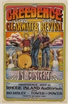 Creedence Clearwater Revival Original 1971 Concert Poster