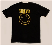 "Nirvana ""Nevermind"" Rare First Promotional T-Shirt Given Only To Geffen Records Employees"