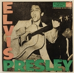 Elvis Presley Original Record Promotion Table Standee Display