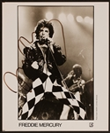 Freddie Mercury Signed Photograph