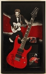 Chuck Berry Signed Cherry Red Electric Guitar
