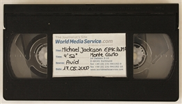 Michael Jackson 2000 Monte Carlo World Music Awards Unreleased Recording