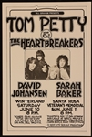 Tom Petty and The Heartbreakers Original 1978 Concert Poster