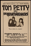 Tom Petty and The Heartbreakers Original Concert Poster