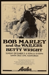Bob Marley and the Wailers Original 1979 Concert Poster