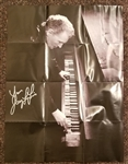"Jerry Lee Lewis Signed ""Mean Old Man"" C.D. Posters (2)"