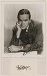 Bob Hope Signed & Inscribed Photograph and Card