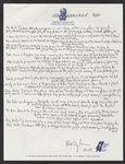 "Bob Dylan Handwritten & Signed ""Mr. Tambourine Man"" Lyrics from the Collection of Bob Dylan"