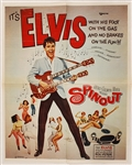 "Elvis Presley Original ""Spinout"" Movie Poster"