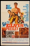 "Elvis Presley ""Flaming Star"" Original Movie Poster"
