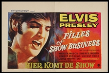 "Elvis Presley ""The Trouble With Girls"" Original Movie Poster"