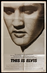 "Elvis Presley ""This Is Elvis"" Original Movie Poster"