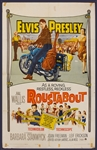 "Elvis Presley ""Roustabout"" Original Movie Poster"