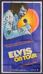 "Elvis Presley ""Elvis On Tour"" Original Movie Poster"