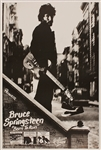 "Bruce Springsteen Original ""Born To Run"" Columbia Records Promotional Poster"
