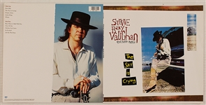 "Stevie Ray Vaughan and Double Trouble ""The Sky is Crying"" Original Columbia Records Uncut Album Proof"