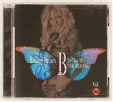"Britney Spears Signed ""B In The Mix Vol. 2""  C.D."