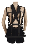 Madonna Blonde Ambition Tour Jean-Paul Gaultier Custom Cage Jacket and Shorts