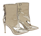Lady Gaga Worn Mistress Rocks Custom Silver Stiletto Boots