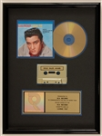 "Elvis Presley ""Loving You"" Original RIAA Gold Cassette and C.D. Award"