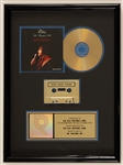 "Elvis Presley ""He Touched Me"" Original RIAA Gold Cassette and C.D. Award"