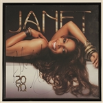 "Janet Jackson Original Promotional Collection Including Signed & Inscribed ""20 Y.O."" Poster"