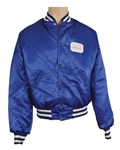 Michael Jackson Worn and Signed Blue Satin Concert Tour Jacket