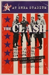 "The Clash ""Live at Shea Stadium"" Original Promotional Poster"