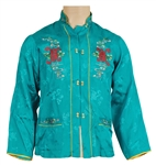 Michael Jackson Owned & Worn Chinese Silk Jacket
