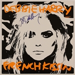 "Debbie Harry Signed ""French Kissin"" Album"