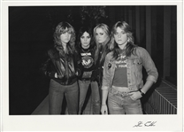 The Runaways Original Steve Emberton Signed Photograph