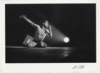 Iggy Pop Original Steve Emberton Signed Photograph