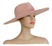 "Lady Gaga ""Joanne"" Album Promotion Worn Pink Wide Brimmed Hat"
