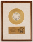"The 5 Stairsteps ""O-o-h Child"" Original RIAA White Matte Gold Record Award Presented to Frankie Crocker"