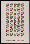 "Rolling Stones ""Forty Licks"" Original Limited Edition Poster"