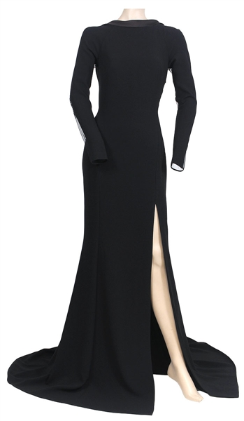 "Katherine McPhee ""Sinatra 100: An All-Star Grammy Concert""  Stage Worn Max Azria Atelier Custom Black Gown"