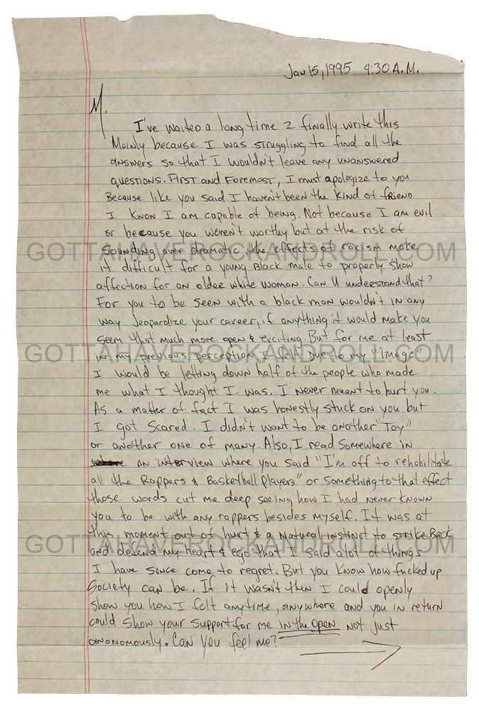 Hand Written Love Letter from www.gottahaverockandroll.com
