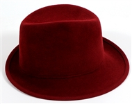 "Madonna Owned and Re-Gifted ""Jaunty Little Chapeau"" Custom Jean Barthet Fedora"