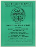 Madonna and Kenny Scharf Original 1989 Save the Rainforest Benefit Concert Featuring The B-52s, Bob Weir and More