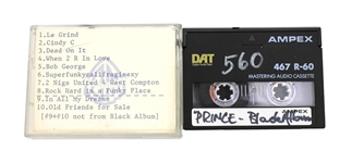"Prince Original Unreleased ""Black Album"" Demo Digital Audio Tape (DAT)"