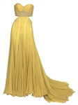 Ashanti 2007 American Music Awards Worn Max Azria Atelier Custom Yellow Gown