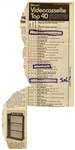 John Lennon Hand-Annotated December 6 1980 Billboard Clipping