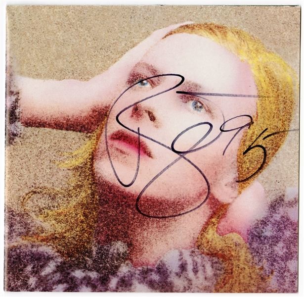 "David Bowie Signed ""Hunky Dory"" C.D. Booklet"