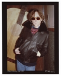 John Lennon 1980 Original Photograph Signed by Photographer