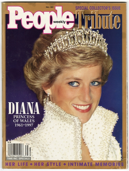 Michael Jacksons Personally Owned Princess Diana People Magazine Collectors Tribute Issue