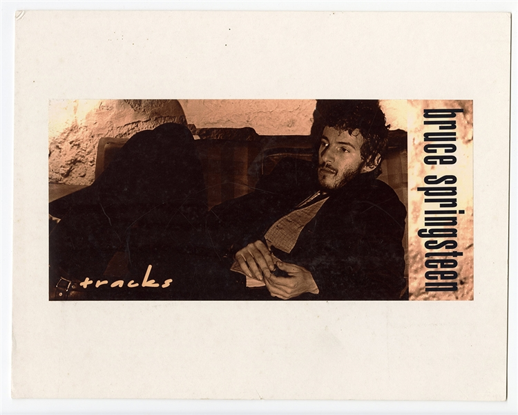 "Bruce Springsteen ""Tracks"" Small Promotional Poster"