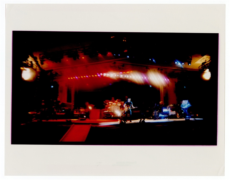 Bruce Springsteen and the E Street Band Original Danny Clinch Stamped 11 x 14 Concert Photograph