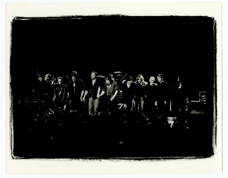 Bruce Springsteen and the E Street Band Original Neal Preston 11 x 14 Photograph