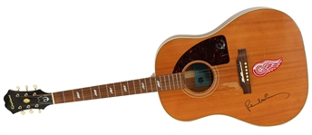"Paul McCartney Signed And Played ""Ed Sullivan Show"" Epiphone 1964 Texan Limited Edition Guitar with Frank Caiazzo LOA"